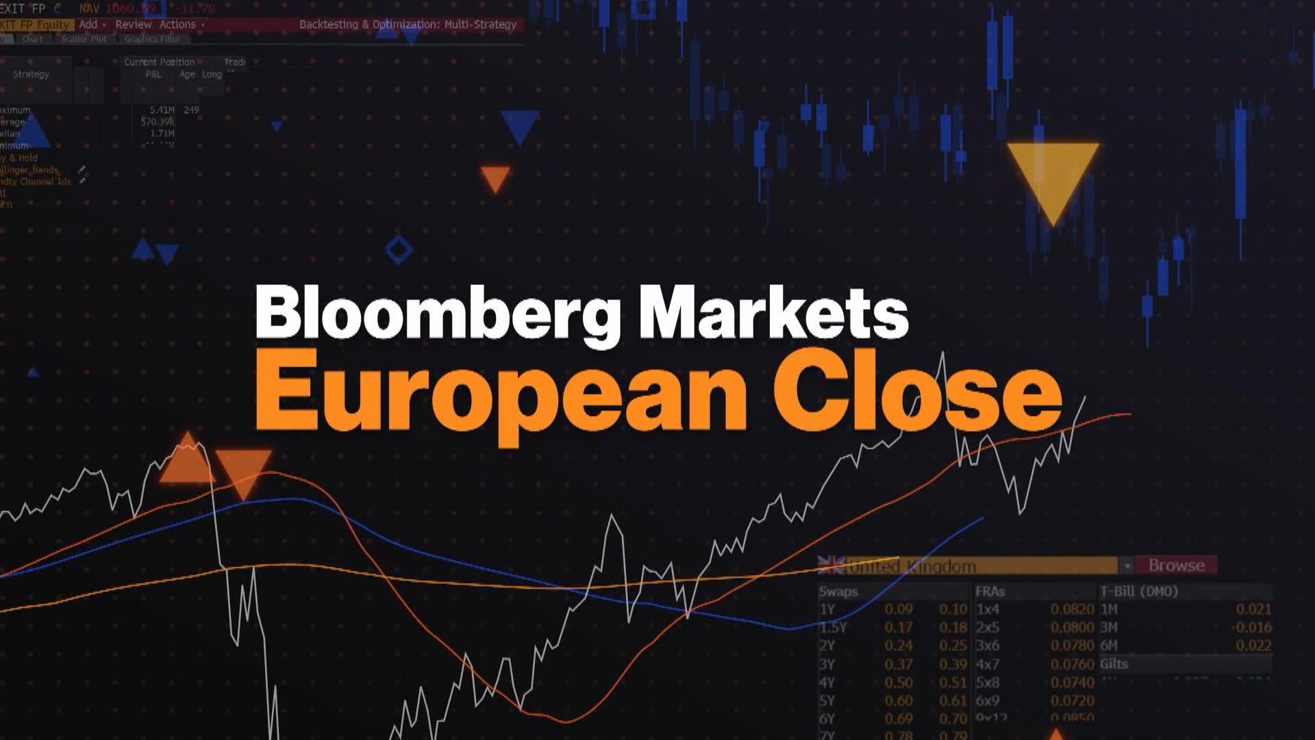 'Bloomberg Markets: European Close' Full Show 5/6/2021