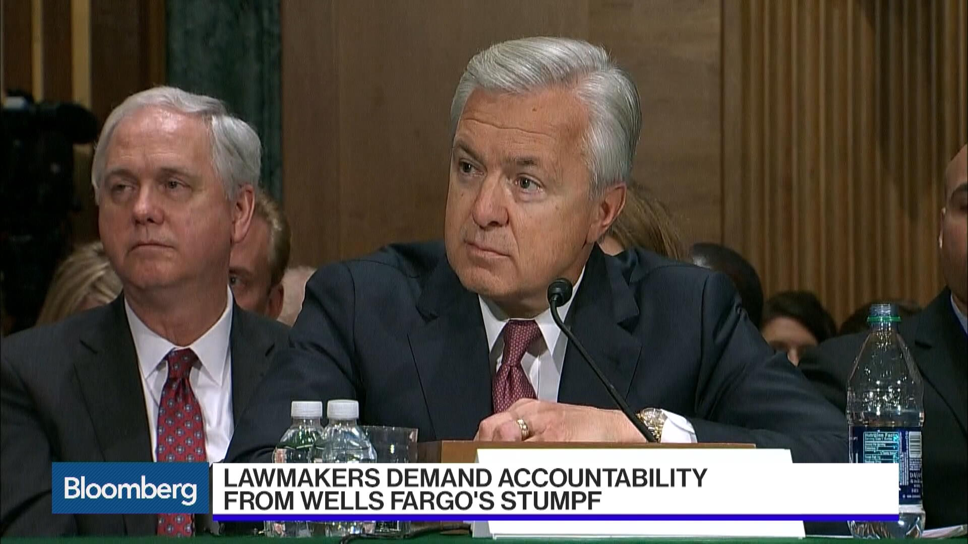 the man who inherit the mess at wells fargo bloomberg per nk