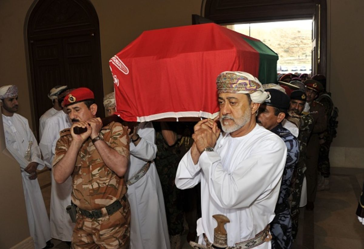 A Blessing and a Curse for Oman's New Sultan