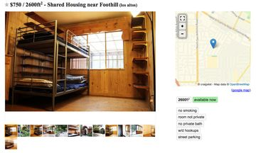 San Francisco S Bunk Bed Craigslist Ads Show The Depth Of The City S Housing Shortage Bloomberg