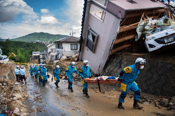 Death Toll Tops 100 as Japan Counts Damage From Record Rain