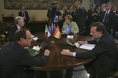 Demands for Bond-Buying Agreement Roil European Crisis Summit