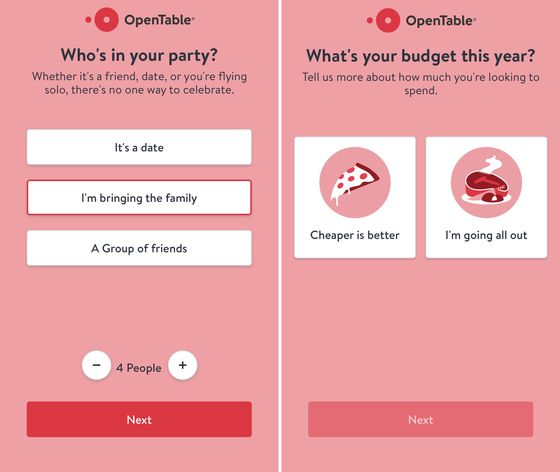 OpenTable's New Tool Helps Avoid at Least One Valentine'sDay Fight