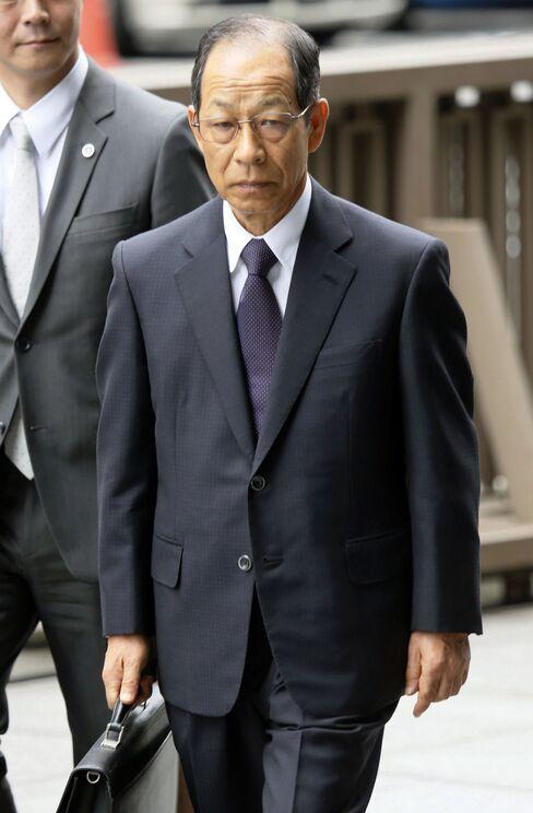 Olympus Corp.'s Former Chairman Tsuyoshi Kikukawa