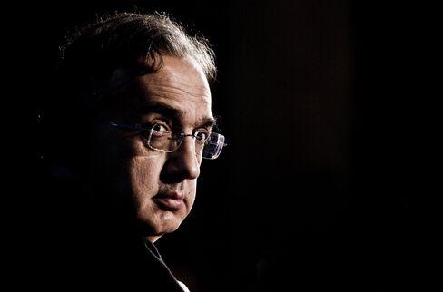 Fiat CEO Sergio Marchionne