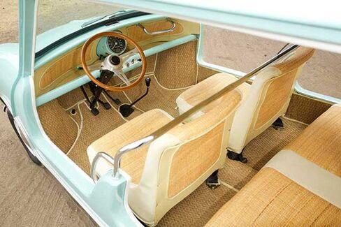 1962 Austin Mini interior