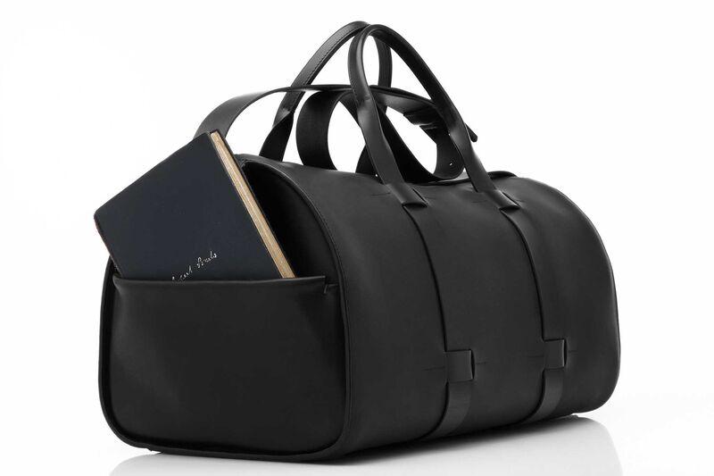 Leather Duffel Bag Troubador
