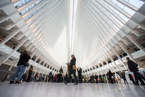 The World Trade Center transit hub took nearly 10 years and $4 billion dollars to complete.