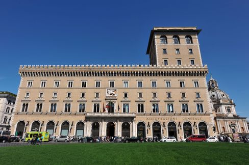 Generali Among Insurers Cut by Moody's