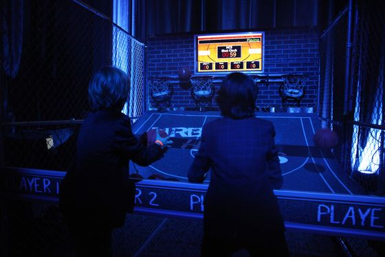 Wall Street Plays Pac-Man, Shoots Hoops at Winter Game Night