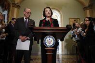 Senators Review FBI Report On Supreme Court Nominee Brett Kavanaugh