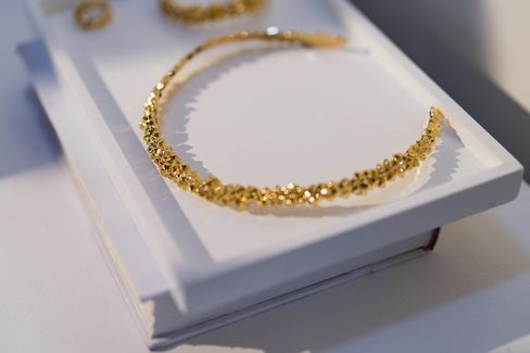 Gold jewelry at AUrate New York, which opened a pop-up shop in Southampton for the summer in 2016.