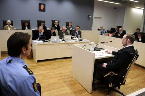 Breivik Obstinate as Prosecution Probes Militant Link