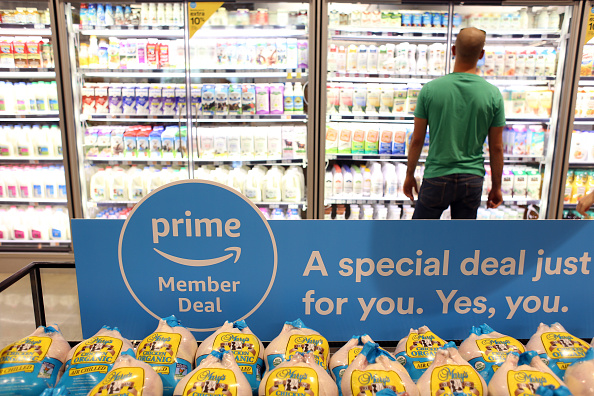 bloomberg.com - Olivia Zaleski - Amazon Prime Day Invades Whole Foods in a Push for Memberships