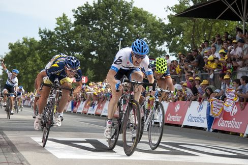 U.S.s Farrar Wins Tour de France Stage on Independence Day