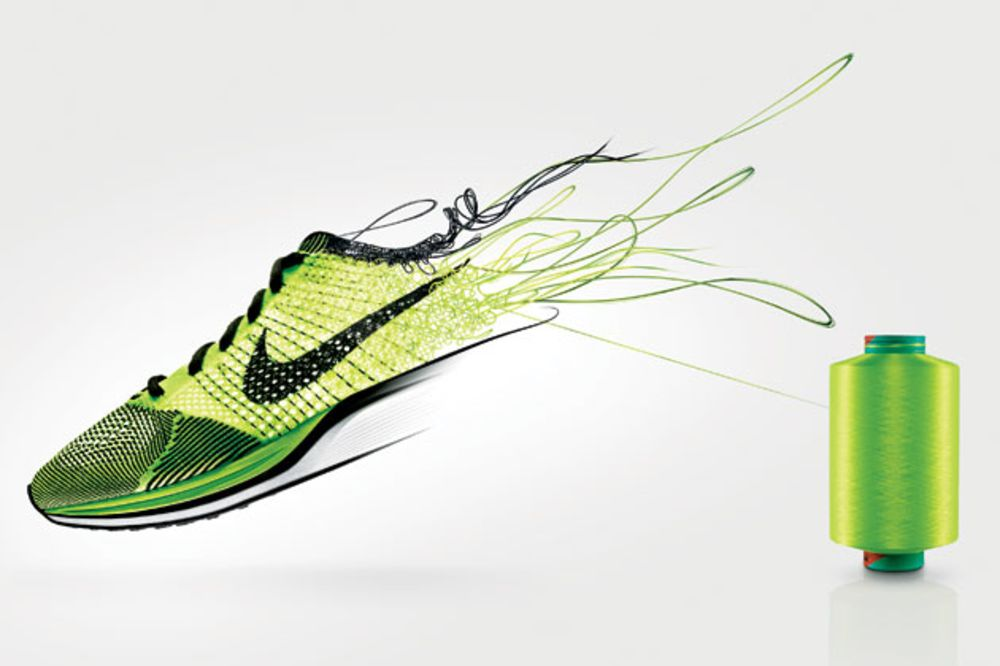 e095fc8635fa Is Nike s Flyknit the Swoosh of the Future  - Bloomberg