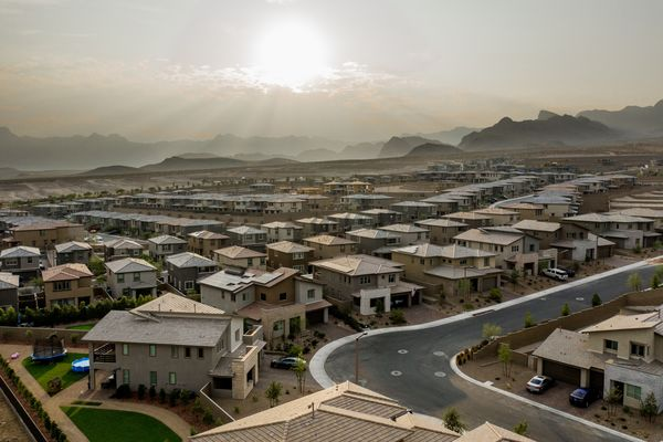 Las Vegas Home-Price Surge Spotlights Disconnect In U.S. Economy