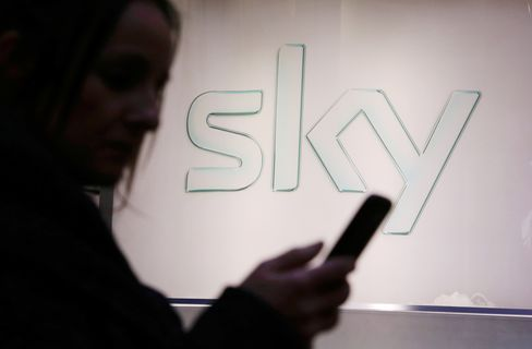 General Images of 02 Stores As Rupert Murdoch's Sky Plc Offers Wireless Service