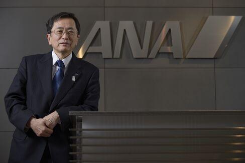 ANA Incoming President Osamu Shinobe