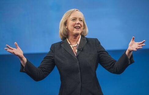 Hewlett-Packard Co. Chief Executive Officer Meg Whitman