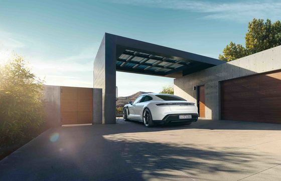 Porsche's $150,000 Electric TaycanTurbo IsAimed Right at Tesla