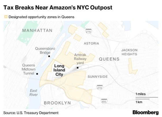 Amazon's Potential NYC Home Bolstered by Trump's Tax Breaks