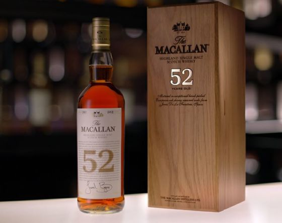Scotch for the Price of a Tesla? Macallan Has a 52-Year-Old Bottle for You