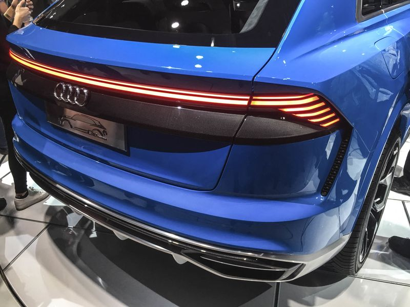 Audi Q SUV At Detroit Price Specs Electric Hybrid PlugIn - Audi cars q8 price list