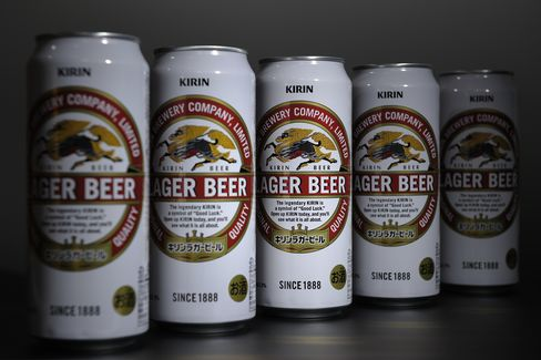 Kirin Forecasts Record Profit This Year on F&N Stake Sale Gain