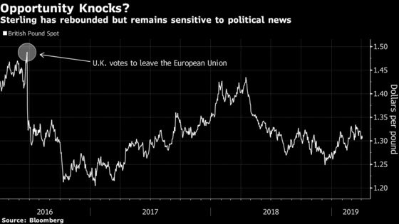 Goldman Sees a 'Big Finish'for Brexit, Opportunity in the Pound