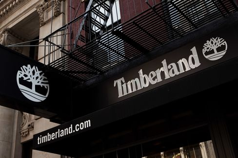 Shares Surge on Timberland