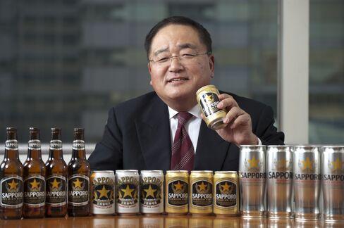 Sapporo International's CEO Yoshiyuki Mochida