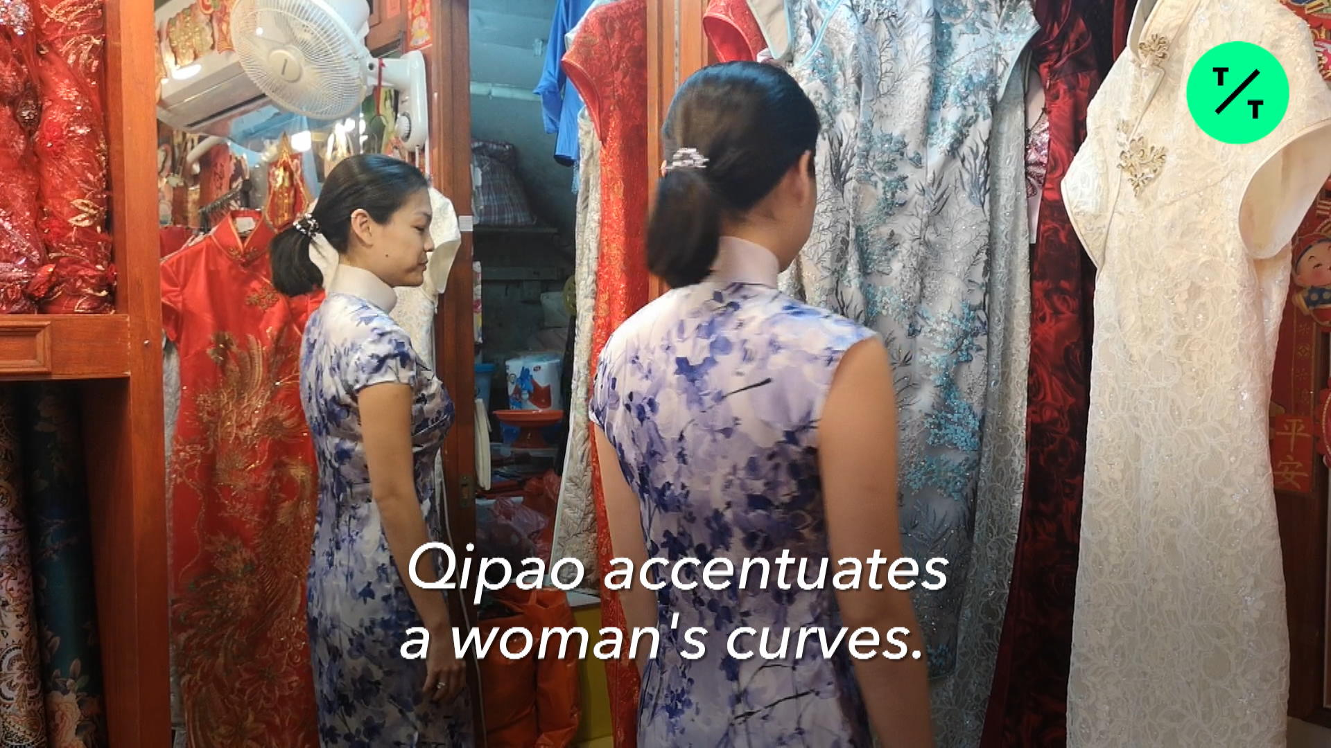 c3e5c7e5e7a2 Revival of the Qipao – Bloomberg