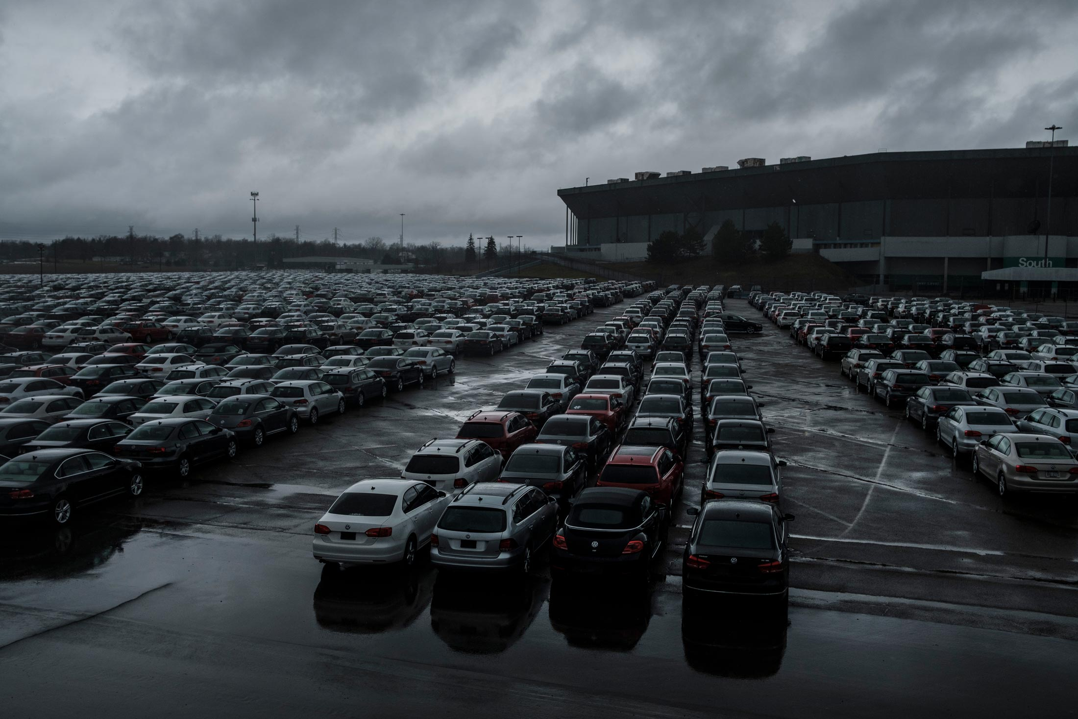 VWs Pile Up by Thousands Awaiting Fix or Scrap Yard in Buyback