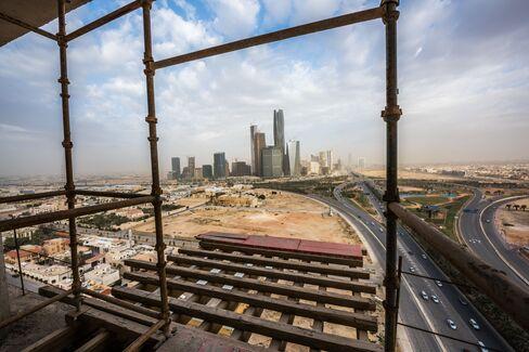 King Abdullah financial district in Riyadh.