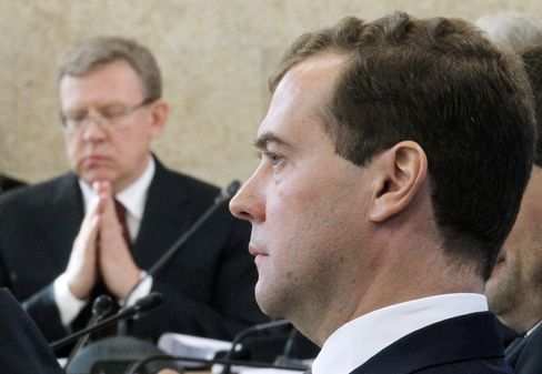 Medvedev Warns Dissenters Amid Shift in Russia Power