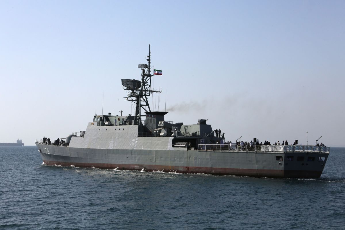 Iran's Navy Dispatches Flotilla to Gulf of Aden, IRNA Reports