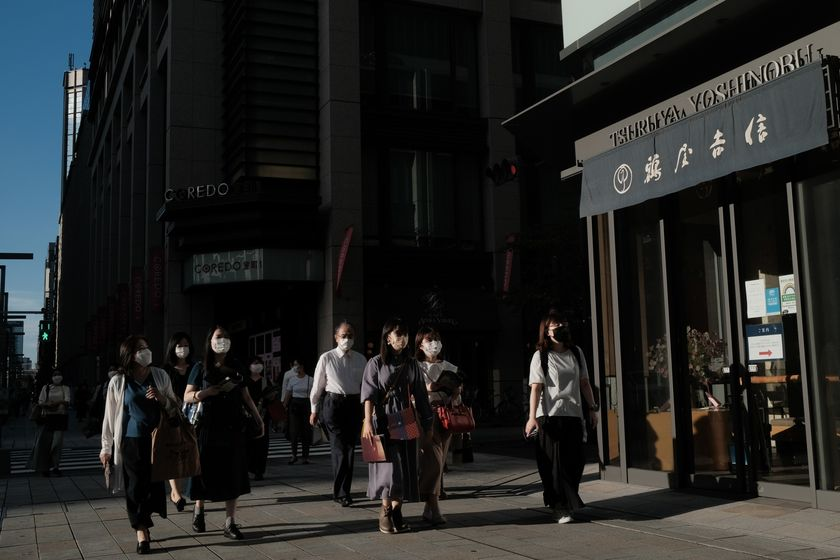 Tokyo Department Stores Ahead of CPI Figures