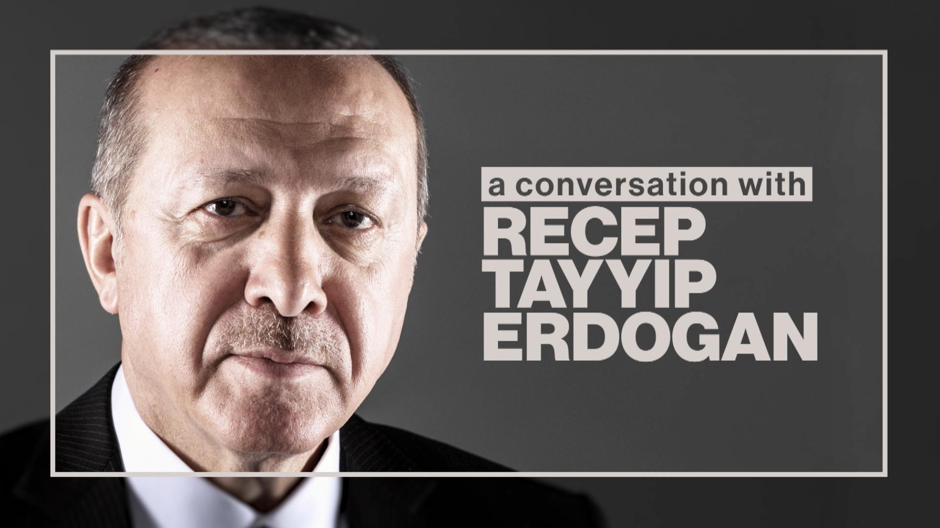 A Conversation With Recep Tayyip Erdogan Full Show Bloomberg
