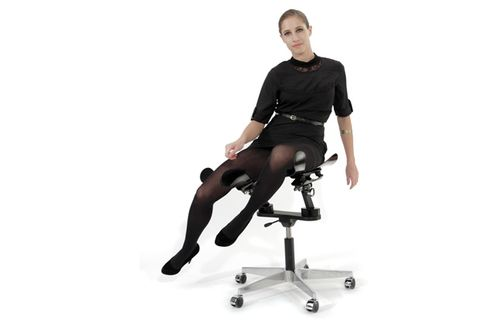 This $8,500 'Smart' Office Chair Never Stops Moving