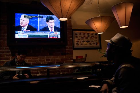 In One Bar, at Least, Biden Wins Big