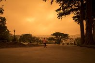 California Awakens To Smoky Skies From Raging Fires