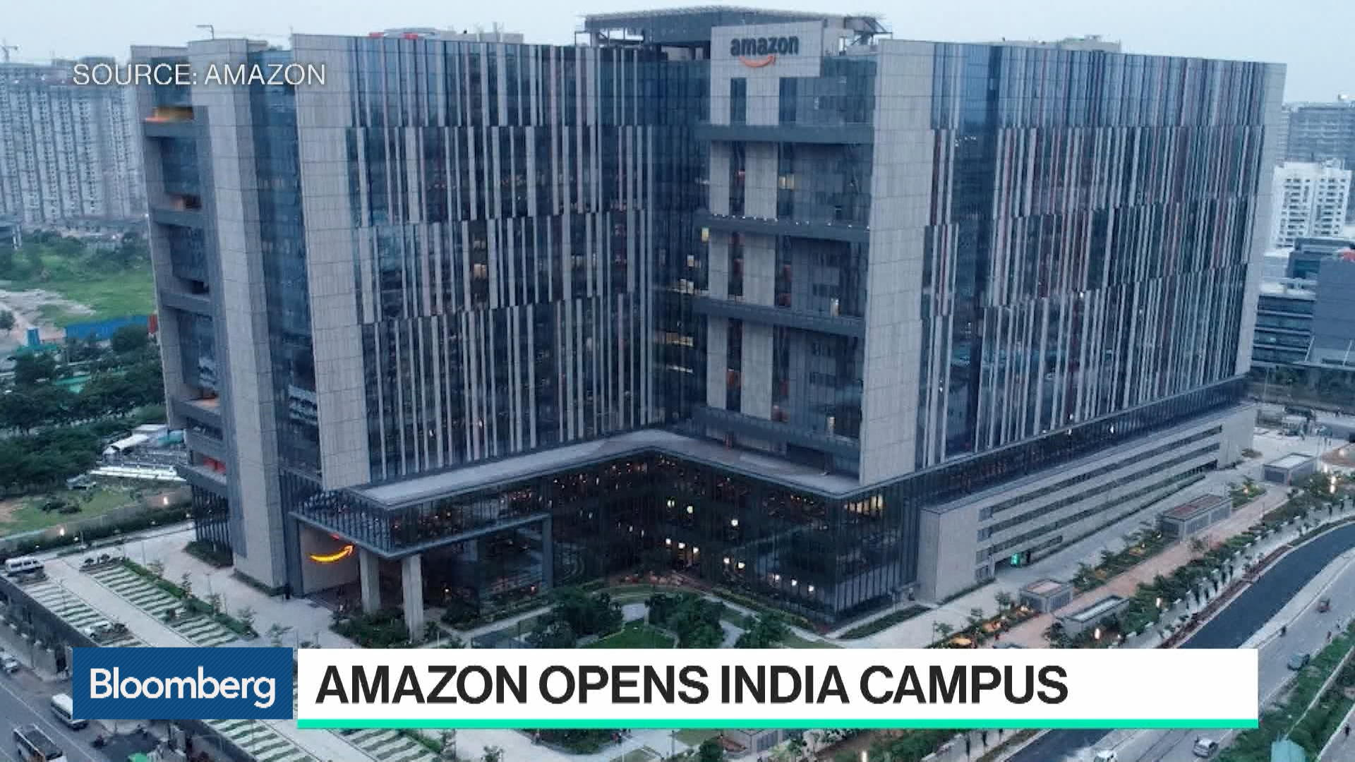 Amazon Is Building Its Largest Campus in India