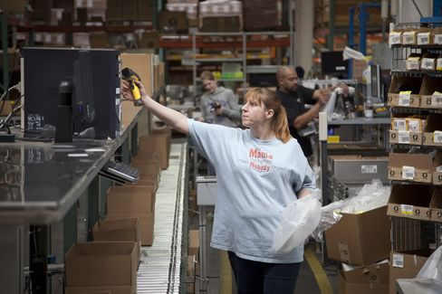 Productivity in U.S. Rises as Companies Try to Cut Labor Costs