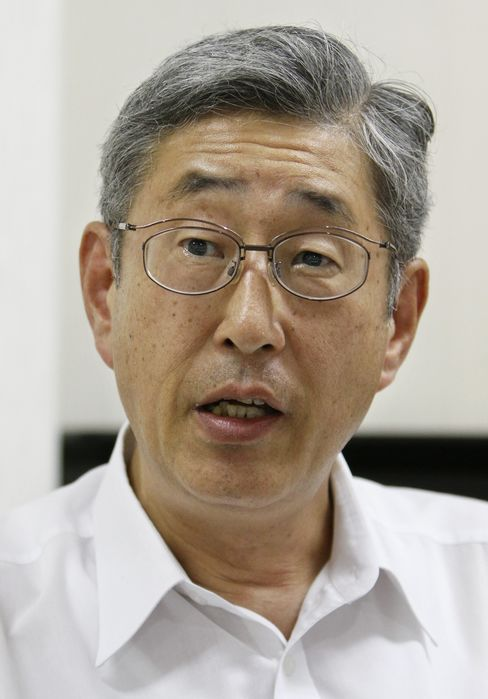 Government Pension Investment Fund President Takahiro Mitani