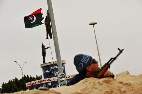Qaddafi Hits Benghazi, Son Says War to Finish in 48 Hours