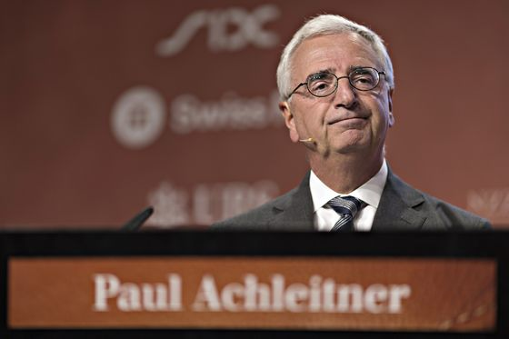 Deutsche Bank Is Well-Positioned for Crisis, Chairman Tells FAS