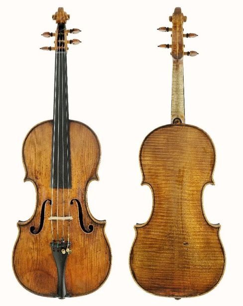 Stradivarius Violin Owned by Austria's Central Bank.