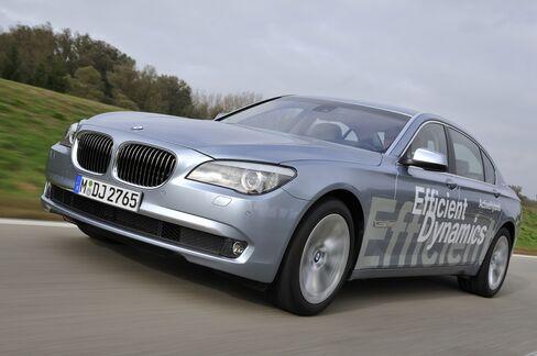 BMW 7 Active Hybrid