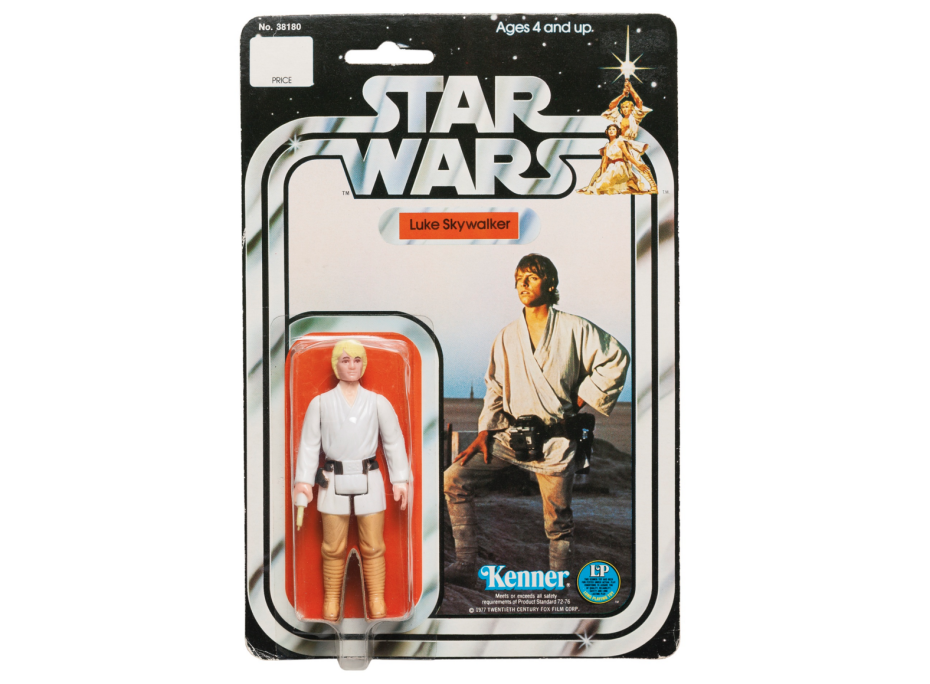 A 1978 Luke Skywalker Action Figure